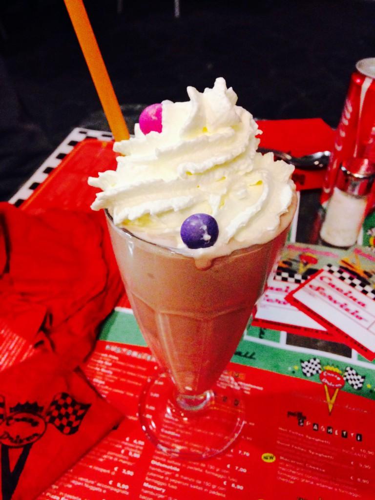 Milkshake Crazy Driver Diner Como