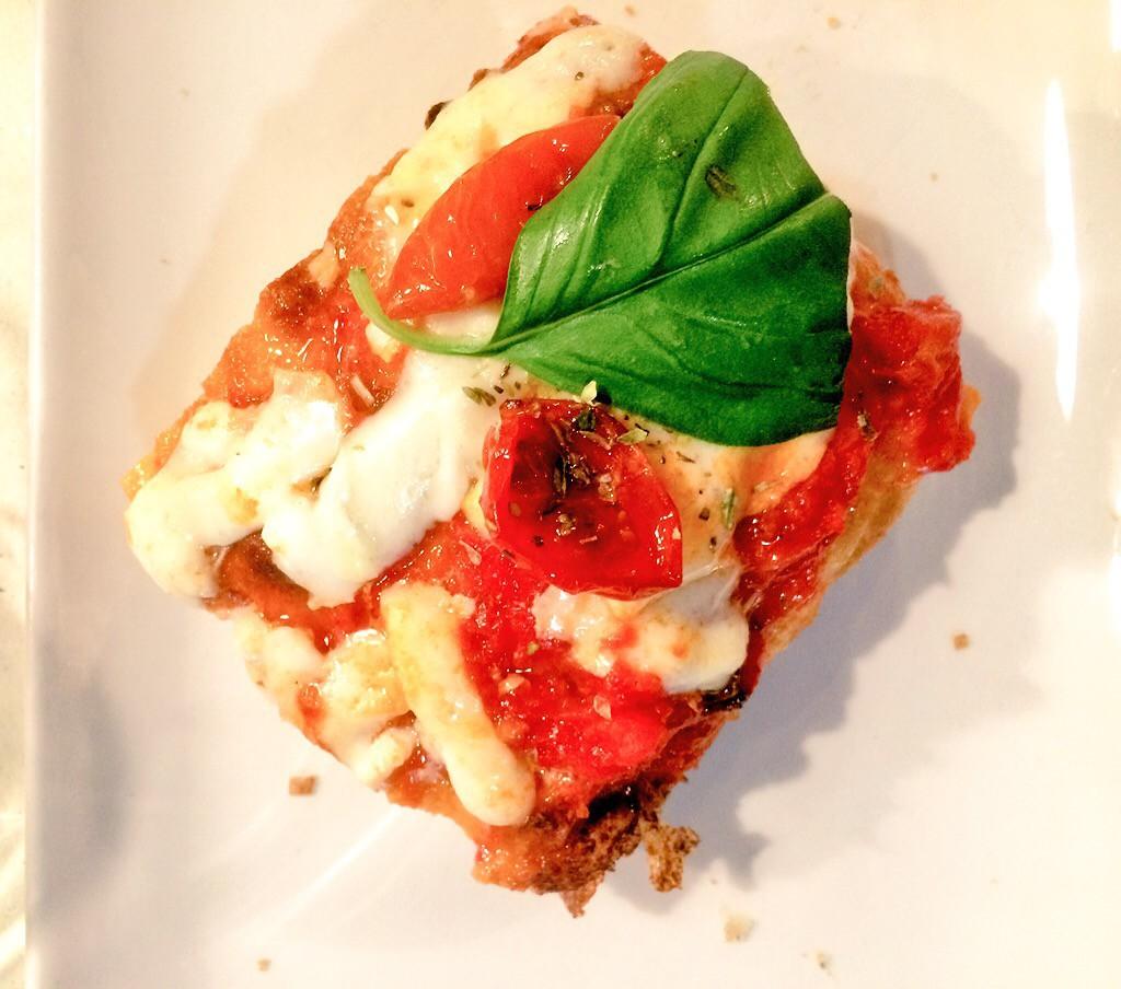 Saporè Renato Bosco Crunch pizza margherita