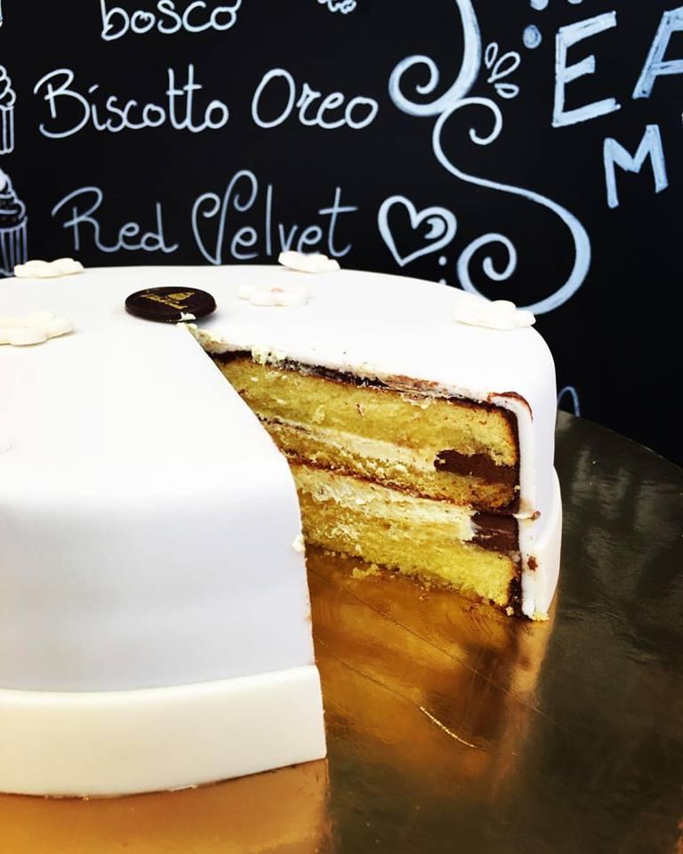 Le torte di giada torta pasta di zucchero