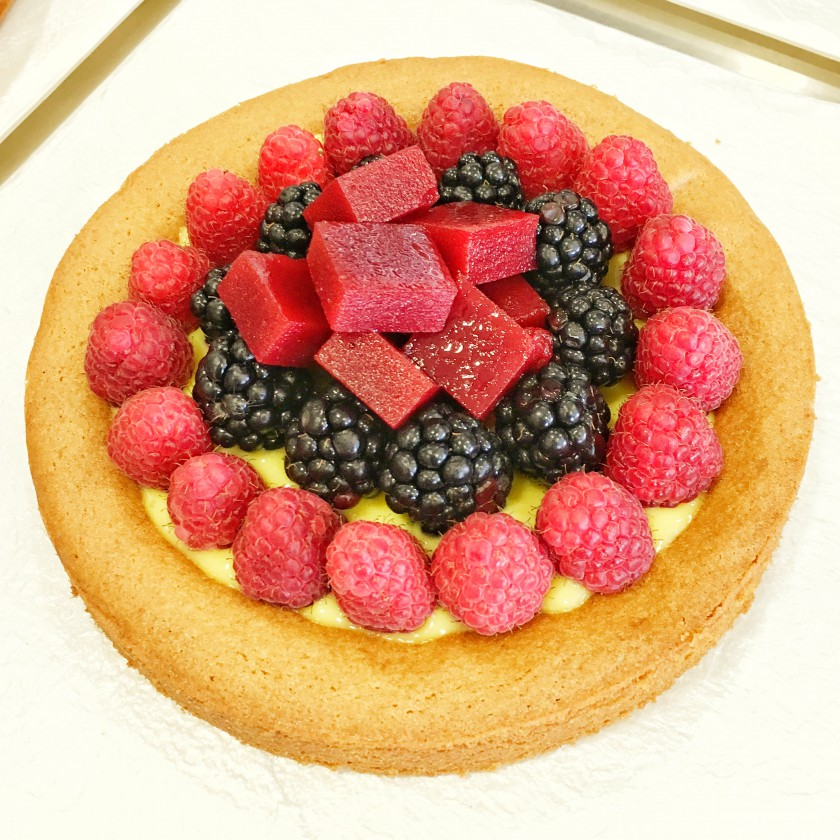 Crostata alla Frutta fresca e gelatinosa diego crosara